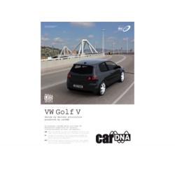 ULOTKA REKLAMOWA A4 carDNA  VW GOLF V