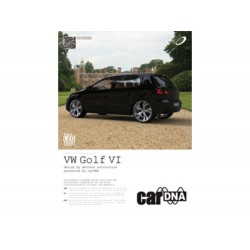ULOTKA REKLAMOWA A4 carDNA  VW GOLF VI
