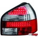 LAMPY TYLNE LED AUDI A3 8L 09.96-04 CZERWONE/PRZEŹROCZYSTE