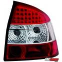 LAMPY TYLNE LED AUDI A4 8E SEDAN 01-04 CZERWONE/PRZEŹROCZYSTE