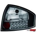 LAMPY TYLNE LED AUDI A6 97-04 SEDAN CZARNE