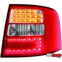 LAMPY TYLNE LED AUDI A6 AVANT 4B 12.97-01.05 CZERWONE/PRZEŹROCZYSTE
