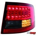 LAMPY TYLNE LITEC AUDI AUDI A6 AVANT 4B 12.97-01.05 CZERWONE/DYMIONE