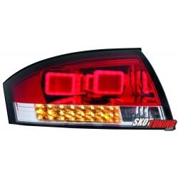 LAMPY TYLNE LED AUDI TT (8N3/8N9) 98-05 CZERWONE/PRZEŹROCZYSTE