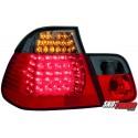 LAMPY TYLNE LED BMW E46 SEDAN 98-01 CZERWONE/DYMIONE