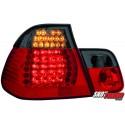 LAMPY TYLNE LED BMW E46 SEDAN 02-04 CZERWONE/DYMIONE