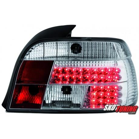 LAMPY TYLNE LED BMW 5 E39 SEDAN 95-00 PRZEŹROCZYSTE