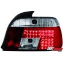 LAMPY TYLNE LED BMW 5 E39 SEDAN 95-00 CZERWONE/PRZEŹROCZYSTE