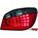 LAMPY TYLNE LED BMW 5 E60 04-07 CZERWONE/DYMIONE