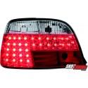 LAMPY TYLNE LED BMW 7 E38 95-02 CZERWONE/PRZEŹROCZYSTE