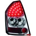LAMPY TYLNE LED CHRYSLER 300C SEDAN 04-08 PRZEŹROCZYSTE