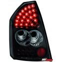 LAMPY TYLNE LED CHRYSLER 300C SEDAN 04-08 CZARNE
