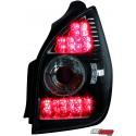 LAMPY TYLNE LED CITROEN C2 02-05 CZARNE