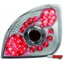 LAMPY TYLNE LED FORD FIESTA 4/5 95-99  PRZEŹROCZYSTE