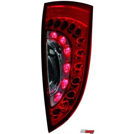 LAMPY TYLNE LED FORD FOCUS 98-04 CZERWONE/PRZEŹROCZYSTE