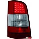 LAMPY TYLNE LED MERCEDES BENZ W638 VITO 96-03 CZERWONE/PRZEŹROCZYSTE