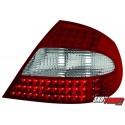 LAMPY TYLNE LED MERCEDES BENZ CLK W209 05-10 CZERWONE/PRZEŹROCZYSTE