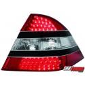 LAMPY TYLNE LED MERCEDES BENZ W220 S-KLASA CZARNE/CZERWONE/PRZEŹROCZYSTE