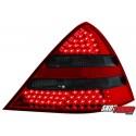LAMPY TYLNE LED MERCEDES BENZ SLK R170 00-04 CZERWONE/DYMIONE