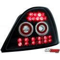 LAMPY TYLNE LED ROVER 200 95-00 CZARNE