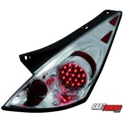 LAMPY TYLNE LED NISSAN 350Z 03-09 PRZEŹROCZYSTE