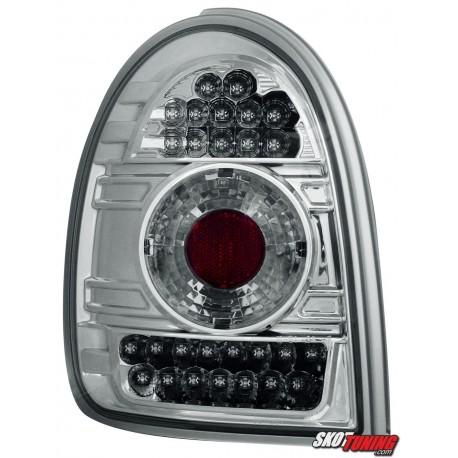 LAMPY TYLNE LED OPEL CORSA B 03.93-03.01 PRZEŹROCZYSTE
