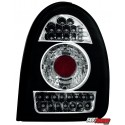 LAMPY TYLNE LED OPEL CORSA B 03.93-03.01 CZARNE