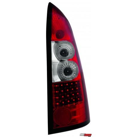 LAMPY TYLNE LED OPEL ASTRA G CARAVAN 98-04  CZERWONE/PRZEŹROCZYSTE