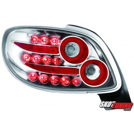 LAMPY TYLNE LED PEUGEOT 206CC 98-09 PRZEŹROCZYSTE