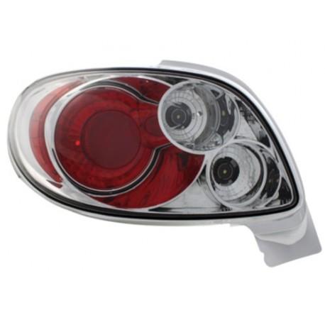 LAMPY TYLNE PEUGEOT 206CC 98-09 PRZEŹROCZYSTE