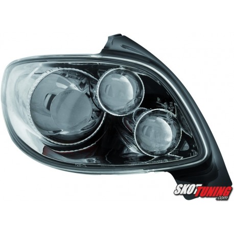 LAMPY TYLNE PEUGEOT 206 98-09 CHROM