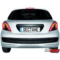 LAMPY TYLNE LED PEUGEOT 207 06+ DYMIONE