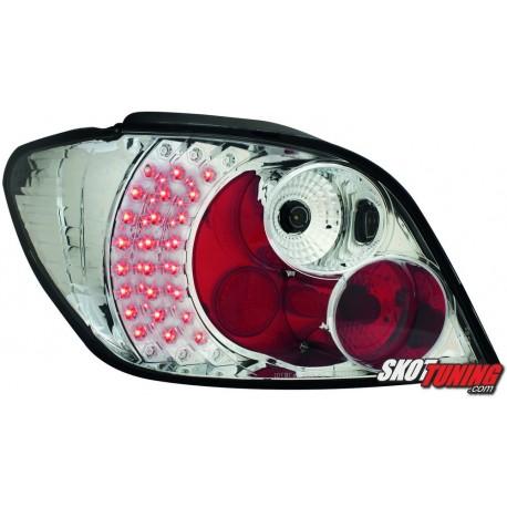 LAMPY TYLNE LED PEUGEOT 307 01-05 PRZEŹROCZYSTE