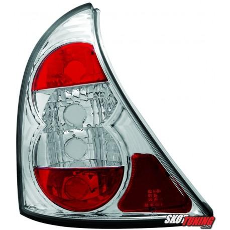 LAMPY TYLNE RENAULT CLIO II 98-01 PRZEŹROCZYSTE