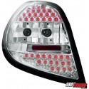 LAMPY TYLNE LED RENAULT CLIO 05-09 PRZEŹROCZYSTE