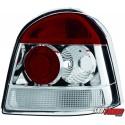 LAMPY TYLNE RENAULT TWINGO 93-04  CZERWONE/PRZEŹROCZYSTE
