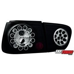 LAMPY TYLNE LED SEAT IBIZA 6K2 08.99-02.02 CZARNE