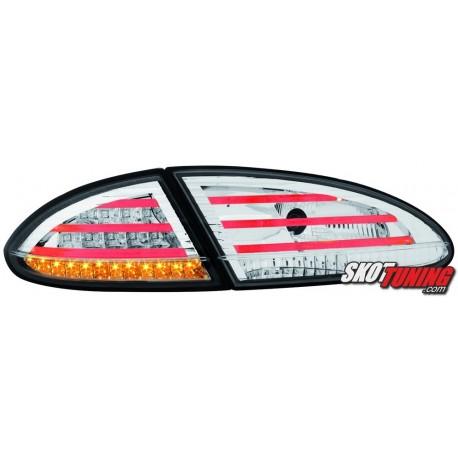 LAMPY TYLNE LED SEAT LEON 1P 05-09 PRZEŹROCZYSTE