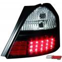 LAMPY TYLNE LED TOYOTA YARIS 05+ CZARNE