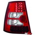 LAMPY TYLNE LED VW BORA VARIANT+GOLF IV VARIANT CZERWONE/PRZEŹROCZYSTE