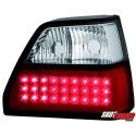 LAMPY TYLNE LED VW GOLF II 83-92 CZERWONE/PRZEŹROCZYSTE