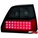 LAMPY TYLNE LED VW GOLF II 83-92 CZERWONE/DYMIONE