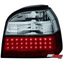 LAMPY TYLNE LED VW GOLF III 91-98 CZERWONE/PRZEŹROCZYSTE