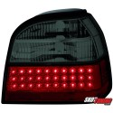 LAMPY TYLNE LED VW GOLF III 91-98 CZERWONE/DYMIONE