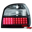 LAMPY TYLNE LED VW GOLF III 91-98 CZARNE
