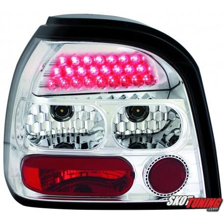 LAMPY TYLNE LED VW GOLF III 91-98 PRZEŹROCZYSTE