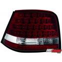 LAMPY TYLNE LED VW GOLF IV 97-04 CZERWONE/PRZEŹROCZYSTE