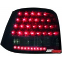LAMPY TYLNE LED VW GOLF IV 97-04 CZARNE/DYMIONE
