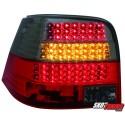 LAMPY TYLNE LED VW GOLF IV 97-04 CZERWONE/DYMIONE