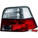 LAMPY TYLNE VW GOLF IV 97-04 CZERWONE/PRZEŹROCZYSTE
